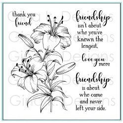 Gina K Designs - Clear Stamp - Thank You Friend