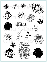 Gina K Designs - Clear Stamp - Painted Autumn