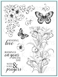 Gina K Designs - Clear Stamp - Sending Love