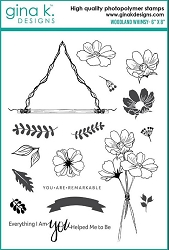 Gina K Designs - Clear Stamp - Woodland Whimsy