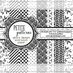 Gina K Designs - 6x6 paper - Petite patterns