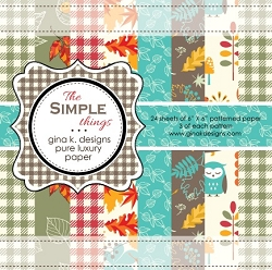 Gina K Designs - 6x6 paper - The Simple Things
