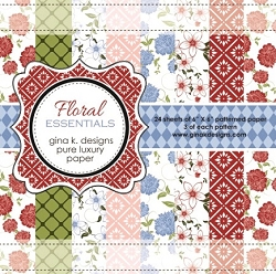 Gina K Designs - 6x6 paper - Floral Essentials