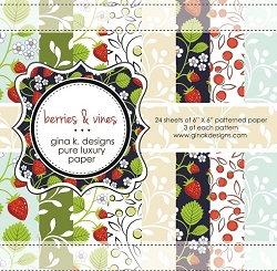 Gina K Designs - 6x6 paper - Berries & Vines