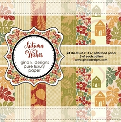Gina K Designs - 6x6 paper - Autumn Wishes