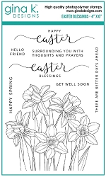 Gina K Designs - Clear Stamp - Easter Blessings