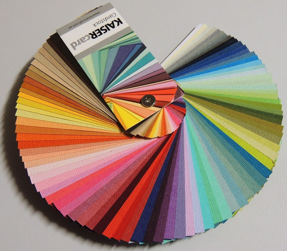 KaiserCraft - Solid color cardstock