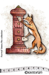 Katzelkraft - Solo Unmounted Rubber Stamp - Foxmail