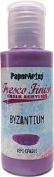 Paper Artsy - Fresco Finish Acrylic Paints - 50ml Bottle - Byzantium (semi-opaque)