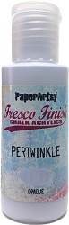 Paper Artsy - Fresco Finish Acrylic Paints - 50ml Bottle - Periwinkle (opaque)