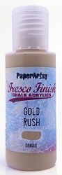 Paper Artsy - Fresco Finish Acrylic Paints - 50ml Bottle - Gold Rush (opaque)