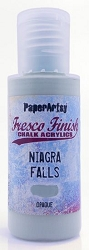 Paper Artsy - Fresco Finish Acrylic Paints - 50ml Bottle - Niagra Falls (opaque)