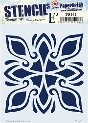 Paper Artsy - Stencil - {ETS} 167 by Tracy Scott