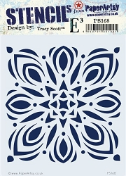 Paper Artsy - Stencil - {ETS} 168 by Tracy Scott