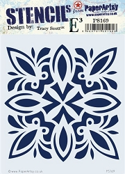 Paper Artsy - Stencil - {ETS} 169 by Tracy Scott
