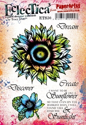 Paper Artsy - Eclectica Cling Mounted Rubber Stamps - Tracy Scott 30