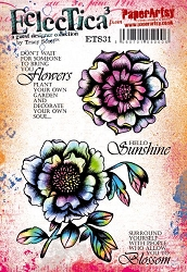 Paper Artsy - Eclectica Cling Mounted Rubber Stamps - Tracy Scott 31