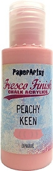 Paper Artsy - Fresco Finish Acrylic Paints - 50ml Bottle - Peachy Keen (opaque)