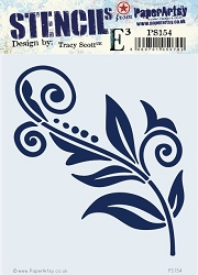 Paper Artsy - Stencil - {ETS} 154 by Tracy Scott