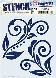 Paper Artsy - Stencil - {ETS} 155 by Tracy Scott