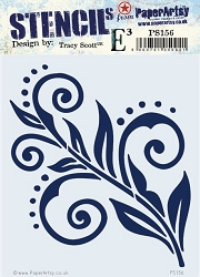 Paper Artsy - Stencil - {ETS} 156 by Tracy Scott