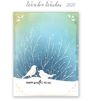 Penny Black - Winter Wishes release