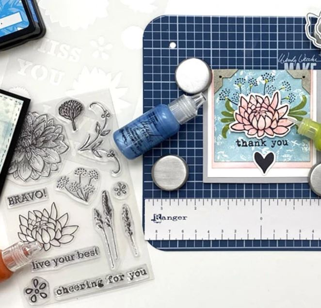 Ranger - Wendy Vecchi Make Art Stay-Tion, stylus, and stamps