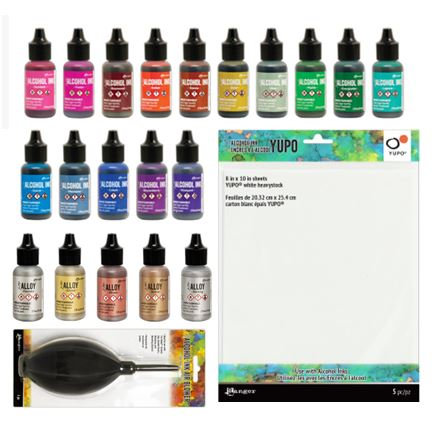 Ranger - Tim Holtz NEW Alcohol Inks & Accessories