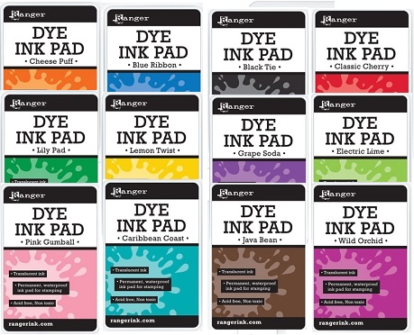 Ranger Dye Inks (pads and refills)