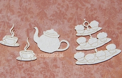 Scrapiniec Chipboard - Tea House