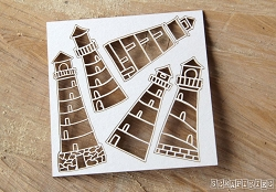 Scrapiniec Chipboard - Lighthouses