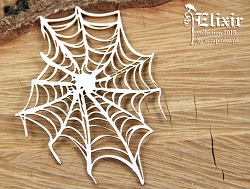 Scrapiniec Chipboard - Spider Web