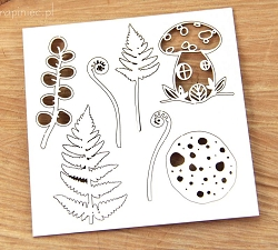 Scrapiniec Chipboard - Magical Fall Elements #2