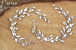Scrapiniec Chipboard - Wreaths