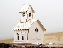 Scrapiniec Chipboard - Micro Church 3D