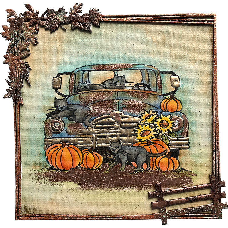 Stampendous - Fall & Halloween stamps!