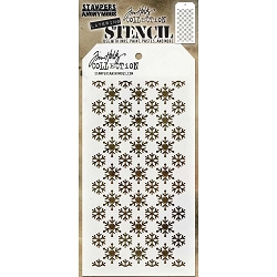 Stamper's Anonymous / Tim Holtz - Layering Stencil - Flurries