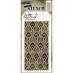 Stamper's Anonymous / Tim Holtz - Layering Stencil - Deco Arch
