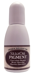 Tsukineko - StazOn Pigment Refill - Chocolate Brown