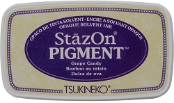 Tsukineko - StazOn Pigment Ink Pad - Grape Candy