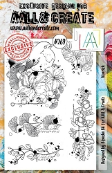 AALL & Create - Clear Stamp A5 Size - Set #269 Flourish