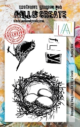 **PRE-ORDER** AALL & Create - Clear Stamp A7 size - Nesting Bird LIMITED EDITION