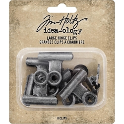 Advantus - Tim Holtz Idea-ology - Large Metal Hinge Clips
