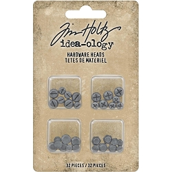 Advantus - Tim Holtz Idea-ology - Metal Hardware Heads