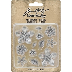 Advantus - Tim Holtz Idea-ology - Adornments Floral