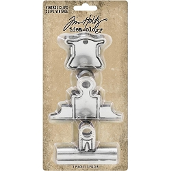Advantus - Tim Holtz Idea-ology - Metal Vintage Clips