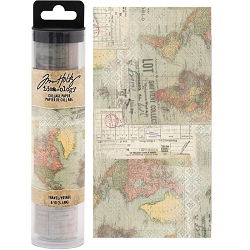 Advantus - Tim Holtz Idea-ology - Collage Paper Travel