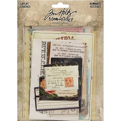 Advantus - Tim Holtz Idea-ology - Ephemera Layers Remnants