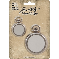 Advantus - Tim Holtz Idea-ology - Pocket Watches