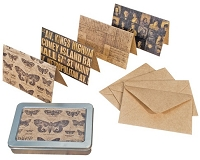 Tim Holtz Market District - Metropolitan Note Card Set
